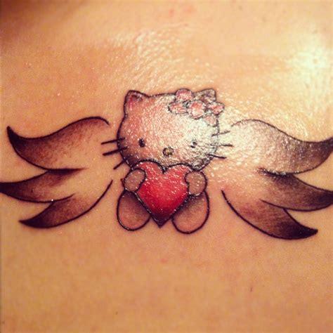 hello kitty tattoos hello shall be getting
