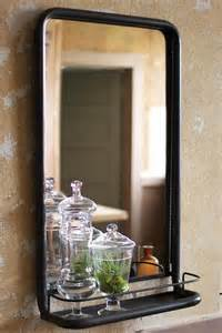 mirror shelf bathroom wall mirror with shelf look 4 less and steals and deals