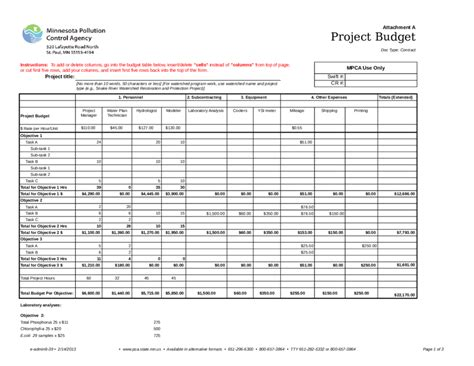 budget table template gantt chart template project budget edit fill sign