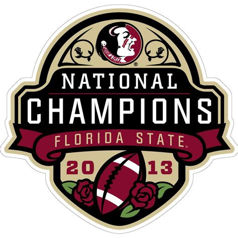 Mba Football State Chionship by 2012 Florida State Football National Chionship Logos