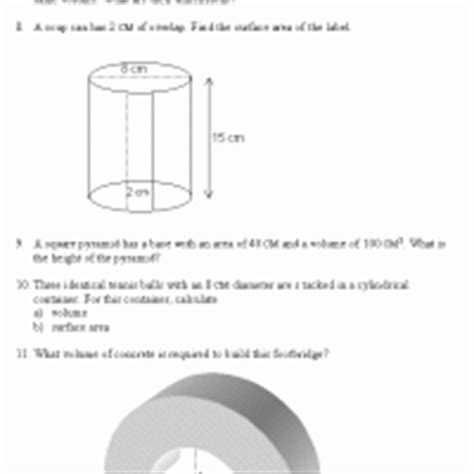 view printable area word volume and surface area word problem 2