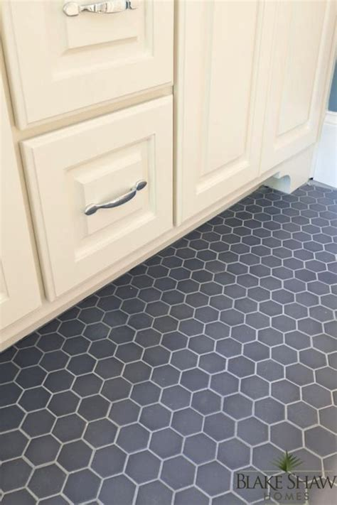 hex tile floor design ideas