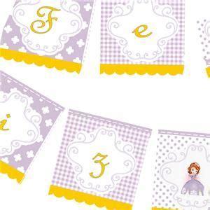 cotillon de sofia princesita bander 237 n de papel princesita sofia decoracion