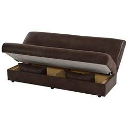 regata brown futon w storage el dorado furniture