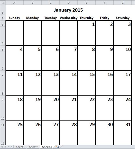 how to make a yearly calendar in excel 2010 how to create monthly yearly calendar in excel
