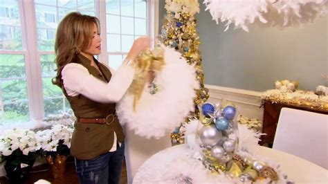 How To Make A Of David Out Of Paper - how to make a feather boa wreath with robertson