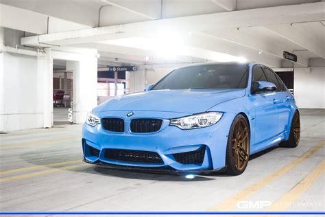 Yas Marina Blue BMW M3 ADV005 M.V2 CS Concave Wheels ADV.1 Wheels