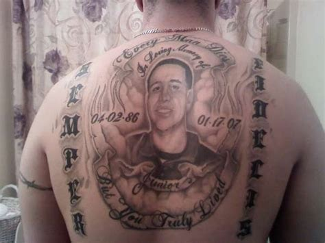 rip brother tattoo designs 25 memorable rip designs entertainmentmesh