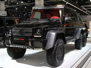 Mercedes Truck 6x6 Brabus B63 S Because The Mercedes G63 Amg 6x6 Wasn T