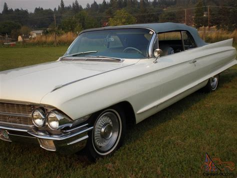 California Cadillac by 1962 Cadillac Convertible For Sale On Ebay