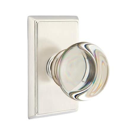 emtek providence cabinet knob emtek 820pcus15 satin nickel providence privacy