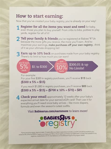 Babies R Us Registry Completion Gift Card - how to get the most from your babies quot r quot us registry save up to 25 top baby spot