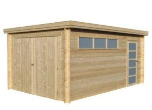 Garage En Bois En Kit 330 by Garage Bois Garages Kit Panneaux Ou Madriers Promo