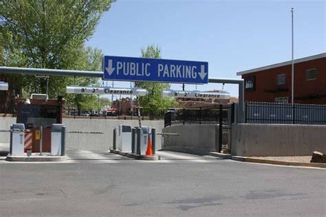 parking lots and garages city of santa fe new mexico