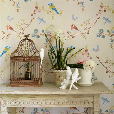 bird wallpaper home decor trailing wallpaper decorating ideas design ideas