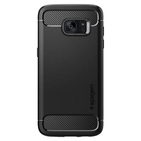 Casing Samsung S7 Edge Carbon Fiber Armor Rugged Soft Back Cover galaxy s7 edge rugged armor spigen inc