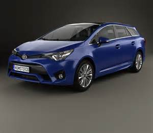 2016 Toyota Avensis Toyota Avensis T270 Wagon 2016 3d Model Humster3d