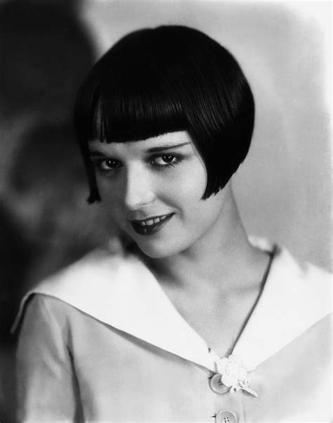 hairstyles for late twenties louise brooks ca late 1920s photograph by everett