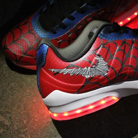 spiderman light up shoes led light up sneakers light up shoes for adults custom