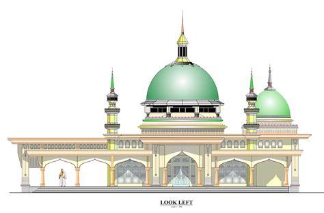 design masjid demak orek orek classic mosque design