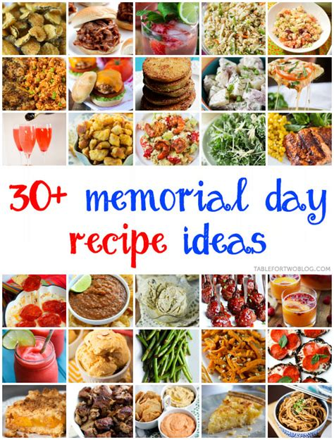 Cpwm Memorial Day Bbq Appetizer Menu by 30 Memorial Day Recipe Ideas Table For Two 174