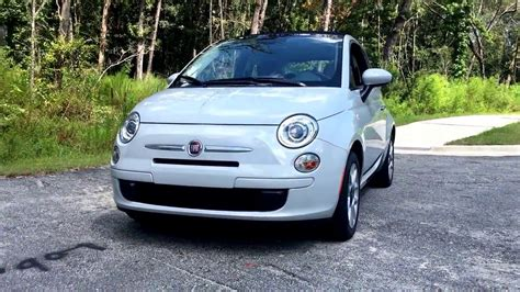 fiat 500c automatic 2017 fiat 500c 1 4l automatic startup and drive review