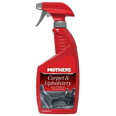 Best Product To Clean Car Upholstery by Mothers 24 Oz Carpet And Upholstery Of 6 05424