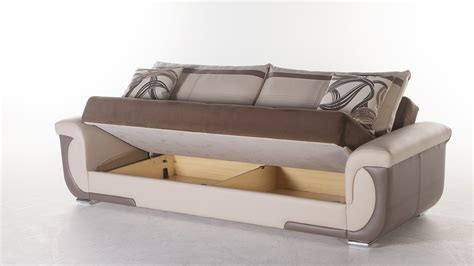 storage couch bed lima s sofa bed with storage