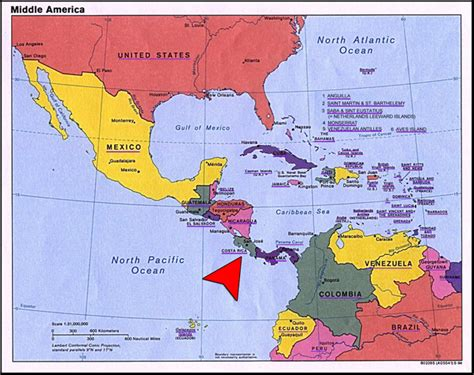 map of central america with major cities costa rica ventures property investment real estate