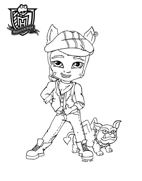 dibujos para colorear de monster high de beb s dibujos dibujos para colorear de monster high de beb 233 s clawd