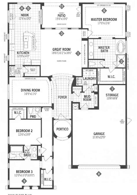 mattamy homes floor plans mattamy homes panorama floor plan dove mtn