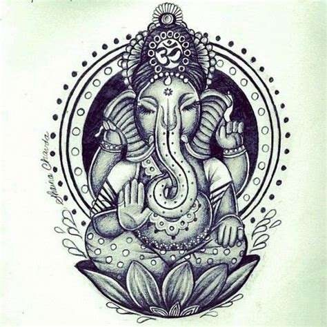 hindu elephant tattoo designs 25 best ideas about ganesha on ganesha
