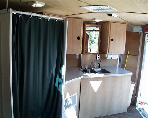Damaged Kitchen Cabinets For Sale by Toyhauler Vs Converting An Enclosed Trailer Trucks