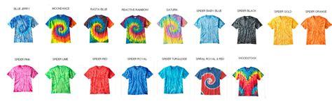 tie dye 5 4 oz 100 cotton t shirt styles cd100 unisex
