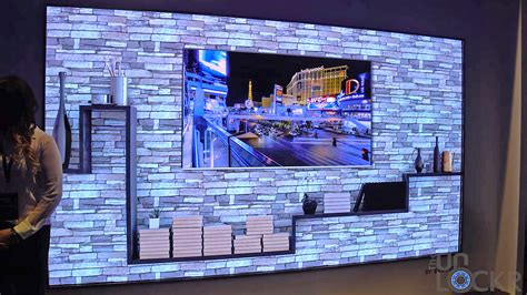 samsung wall tv samsung s quot the wall quot tv their new 8k upscaling tv