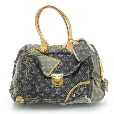 Louis Vuitton Patchwork - louis vuitton denim patchwork bowly 35166