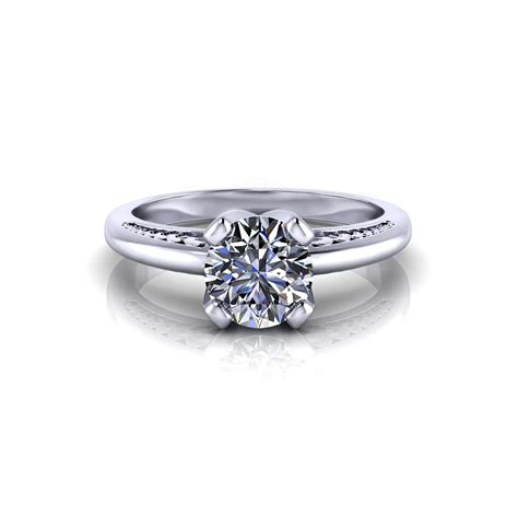Unique Rings by Unique Solitaire Engagement Ring Jewelry Designs