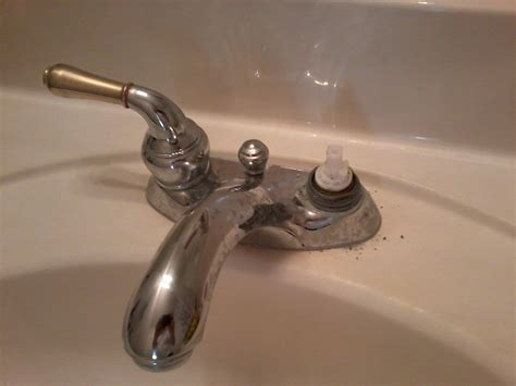 Bath Faucet Leaking Some Pics And Question Need Help Bathroom Faucet Leaking
