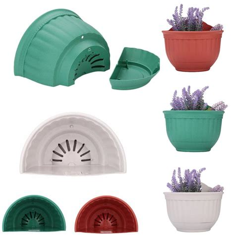 Plastic Half Wall Planters by Buy Wholesale Half Plastic Flower Pots From