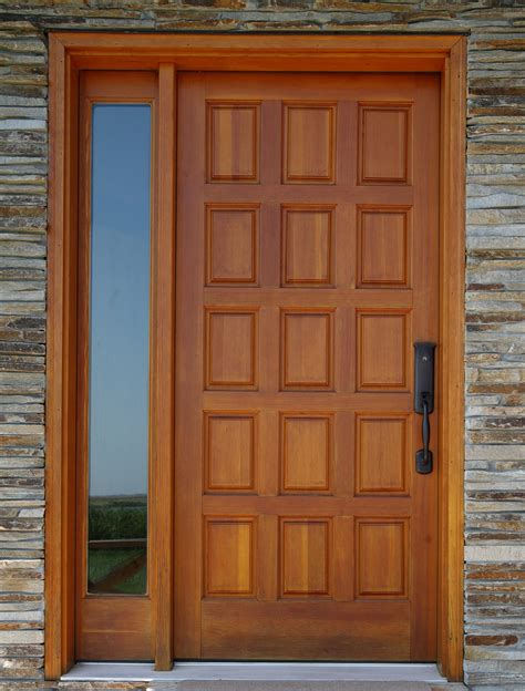What Are Exterior Doors Made Of Entry Doors Eco Windows Doors
