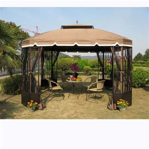 Patio Gazebo Walmart Gazebo Walmart Interesting Replacement Canopy For Cabin Garden Gazebo Riplock With Gazebo
