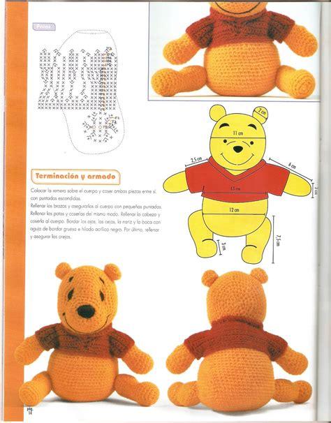 Amigurumi Pattern Winnie The Pooh | winnie the pooh amigurumi pattern 1 4 free cross