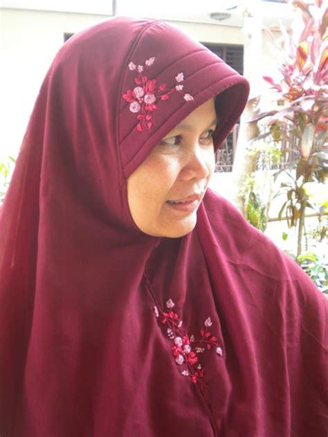 Jilbab Instan Elegan jilbab cantik dan elegan handmade jogja kerudung instan