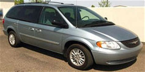 2001 Chrysler Town And Country Recalls by 2001 Chrysler Town Country Reviews And Owner Comments