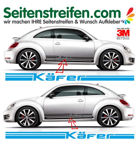 Decal Striping Sticker Klx 041 Glossy vw beetle k 228 fer side stripe sticker decal complete set n