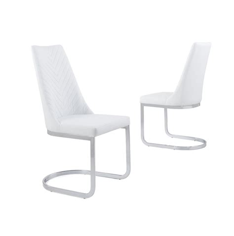 white leather armchair with chrome legs white faux leather dining chair with curved leg homegenies