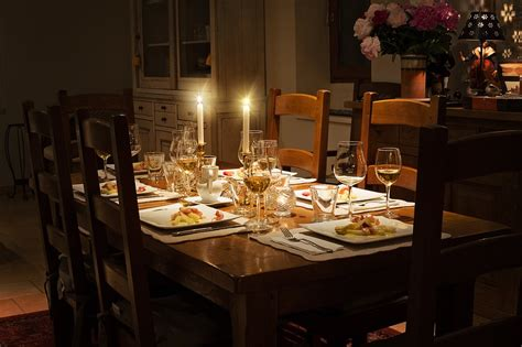 dinner table free photo dinner table fancy dinner table free image