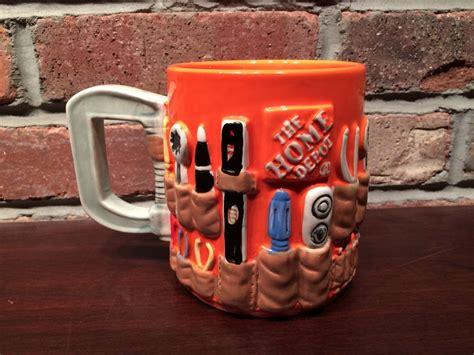 List Of Gift Cards Sold At Home Depot - home depot coffee mug mr christmas 2012 orange workbelt ebay