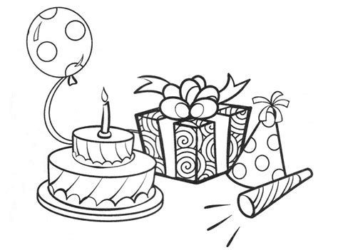 imagenes bonitas para dibujar de cumpleaños dibujos de cumplea 241 os para colorear pintar e imprimir