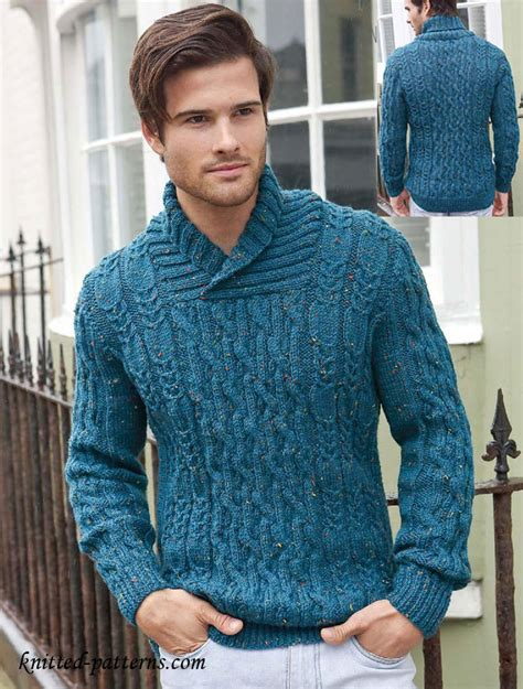 free knit pattern mens sweater men s cable jumper knitting pattern free